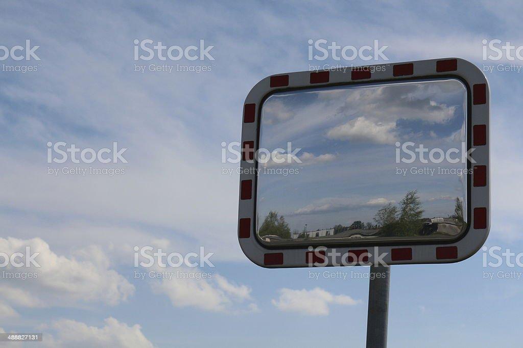 the mirror stock photo