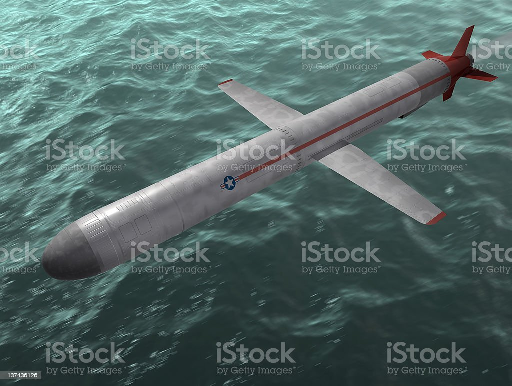 Die Rakete. – Foto