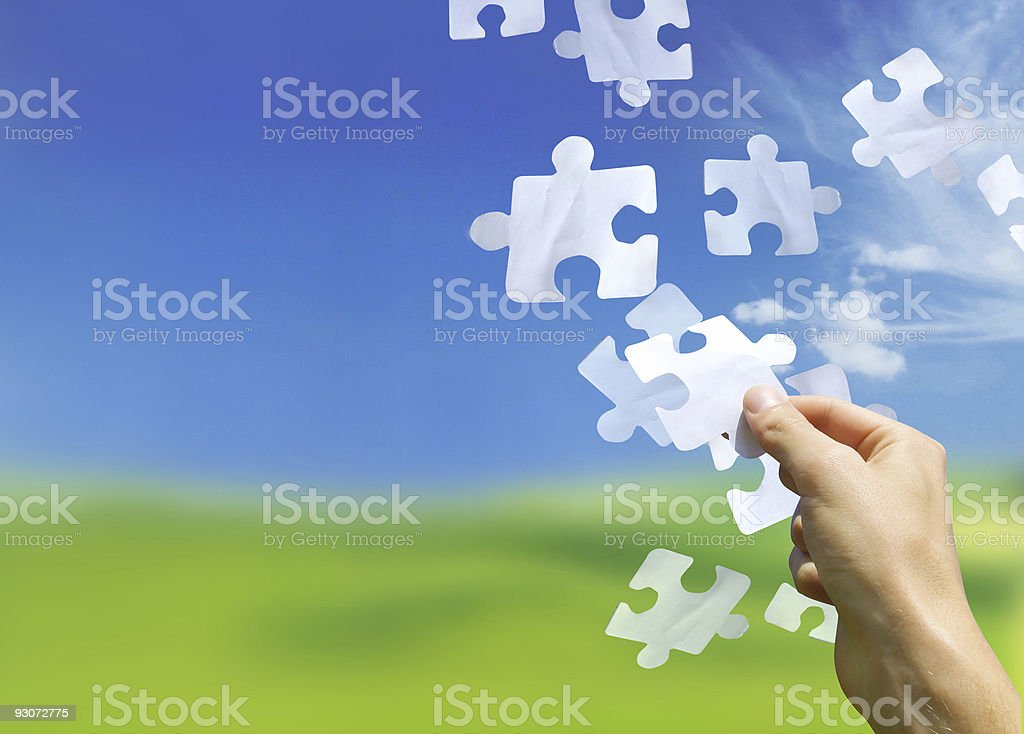 The Missing Links royalty-free stock photo