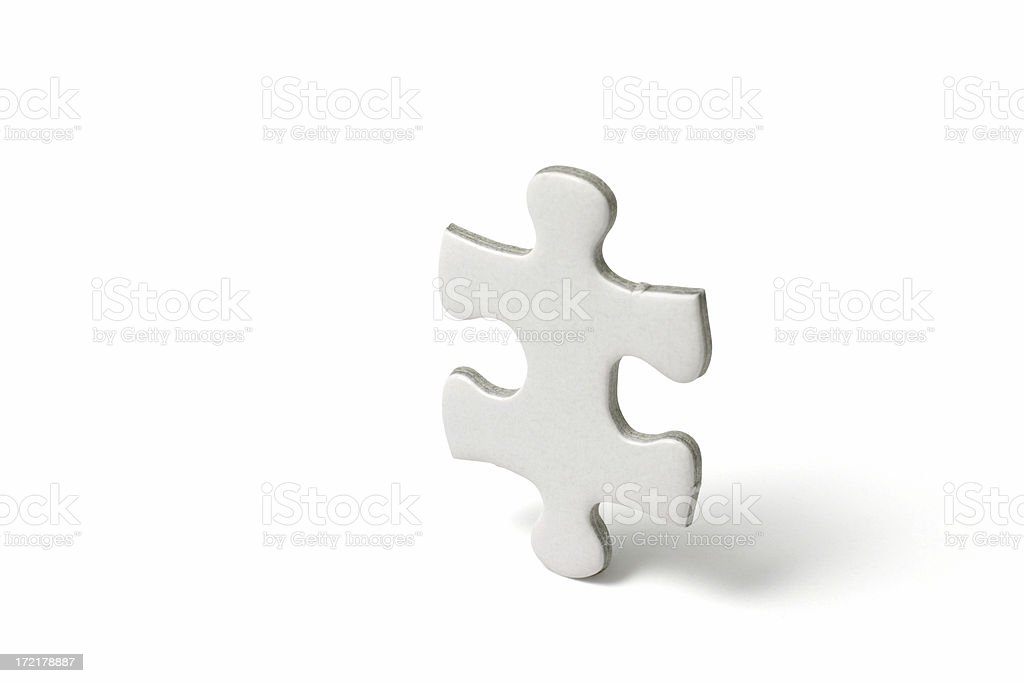 The Missing Piece royalty-free stock photo
