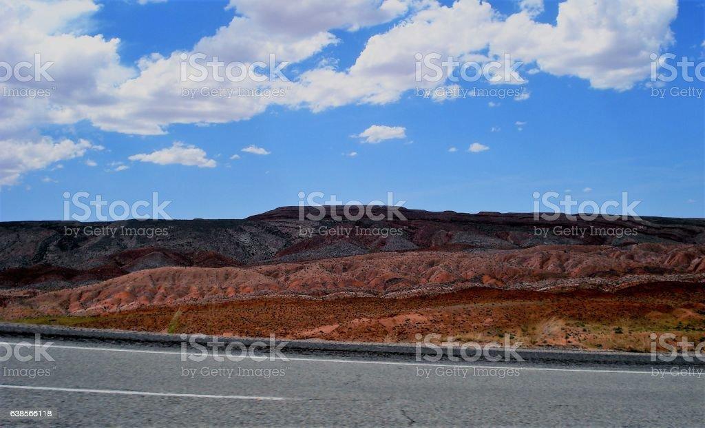 The mitic U.S. Route 66 stock photo