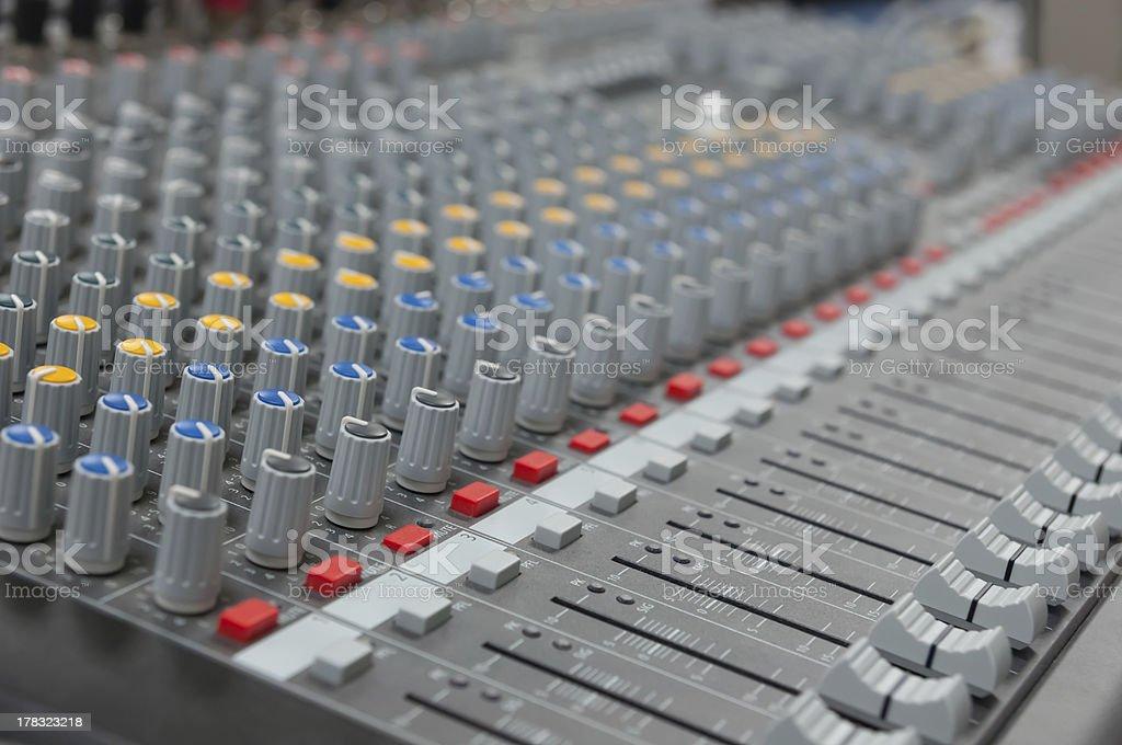 The mixer royalty-free stock photo