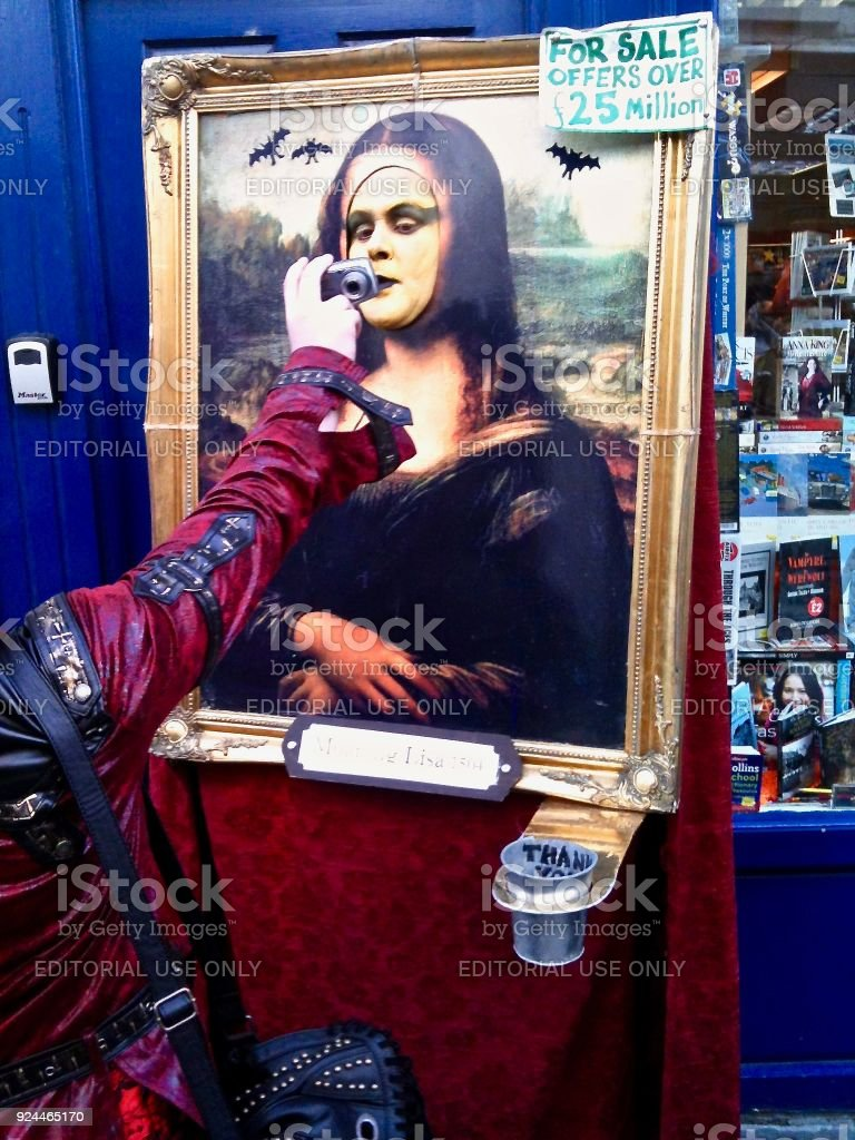 The Moaning Lisa - Did You Catch my Right Side? stock photo