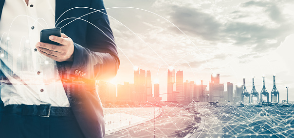 680917060 istock photo The modern creative communication and internet network connect in smart city 1248876473