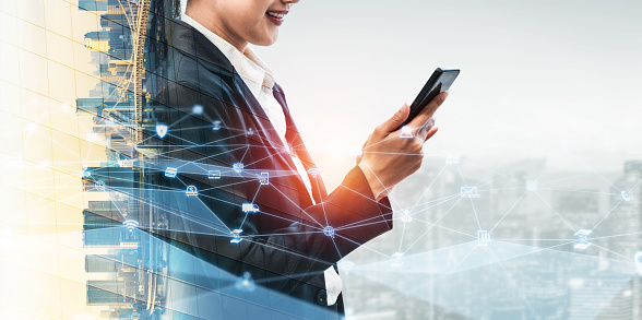 680917060 istock photo The modern creative communication and internet network connect in smart city 1248876545