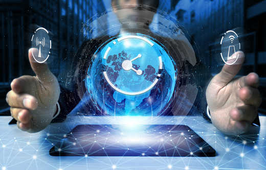 680917060 istock photo The modern creative communication and internet network connect in smart city 1248876580