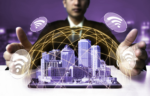 680917060 istock photo The modern creative communication and internet network connect in smart city 1250576865