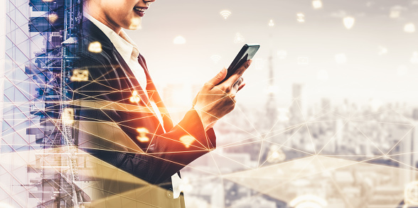 680917060 istock photo The modern creative communication and internet network connect in smart city 1250576879