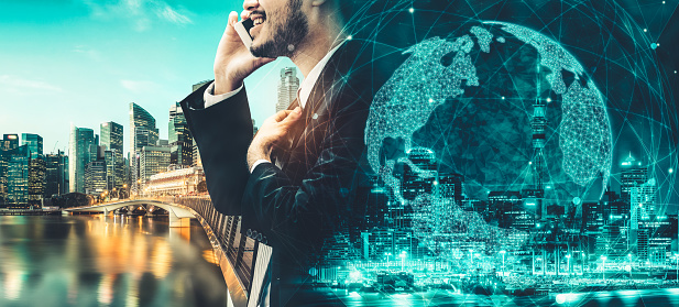 680917060 istock photo The modern creative communication and internet network connect in smart city 1252264633