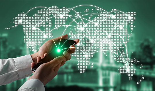 680917060 istock photo The modern creative communication and internet network connect in smart city 1259148327