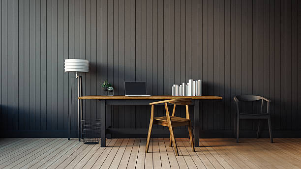 das moderne interieur des büro - schöne bilderrahmen stock-fotos und bilder