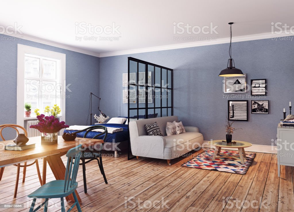 The Modern interior stock photo