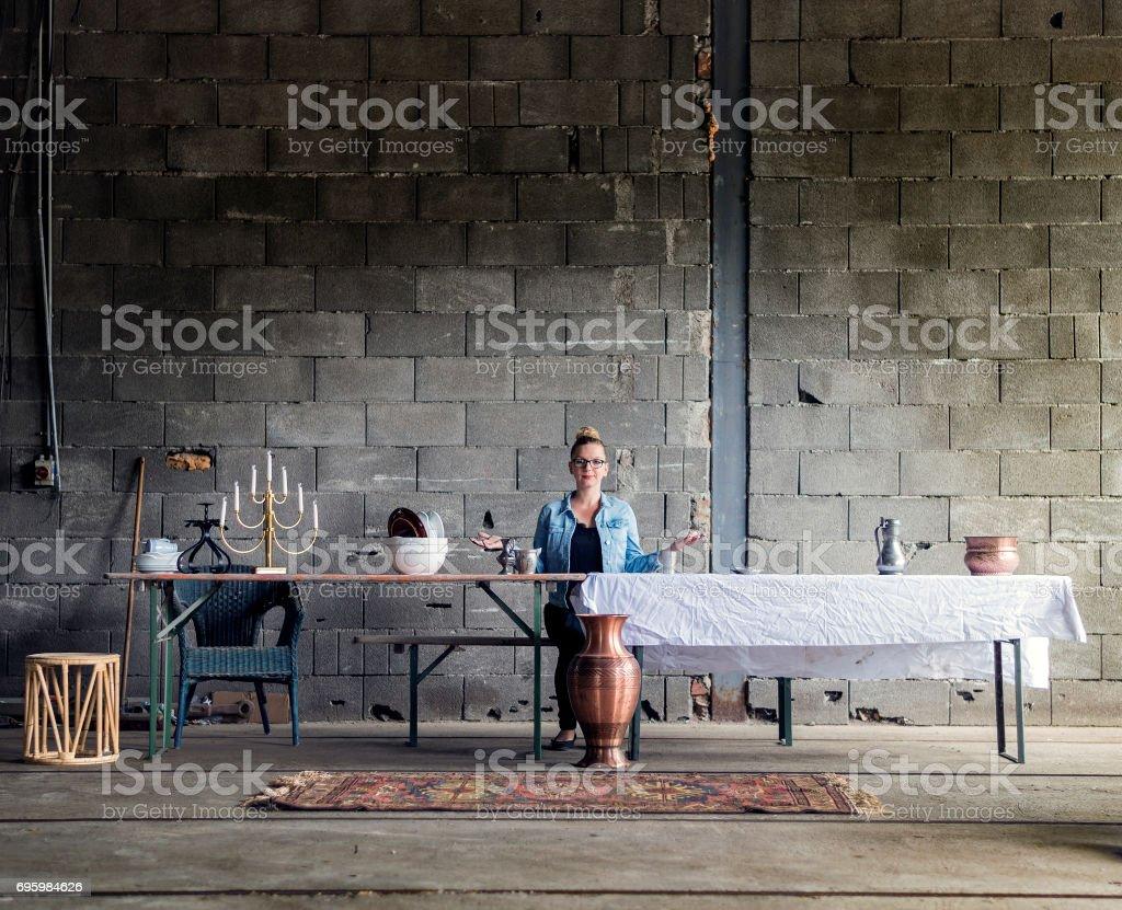 Die moderne Abendmahl – Foto