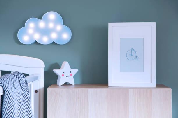The modern scandinavian newborn baby room with mock up poster frame picture id979584968?b=1&k=6&m=979584968&s=612x612&w=0&h=n8elbwd1qcrgbn 74crt88fbpplz1s68vbeovvh1vk8=