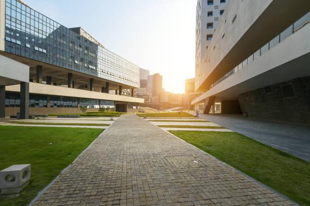 Das moderne Lehrgebäude befindet sich in shenzhen Universität, China – Foto