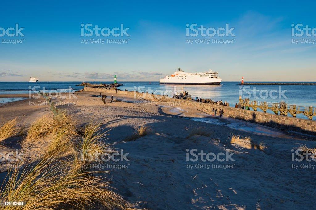 Der Maulwurf an der Ostseeküste in Warnemünde, Deutschland – Foto