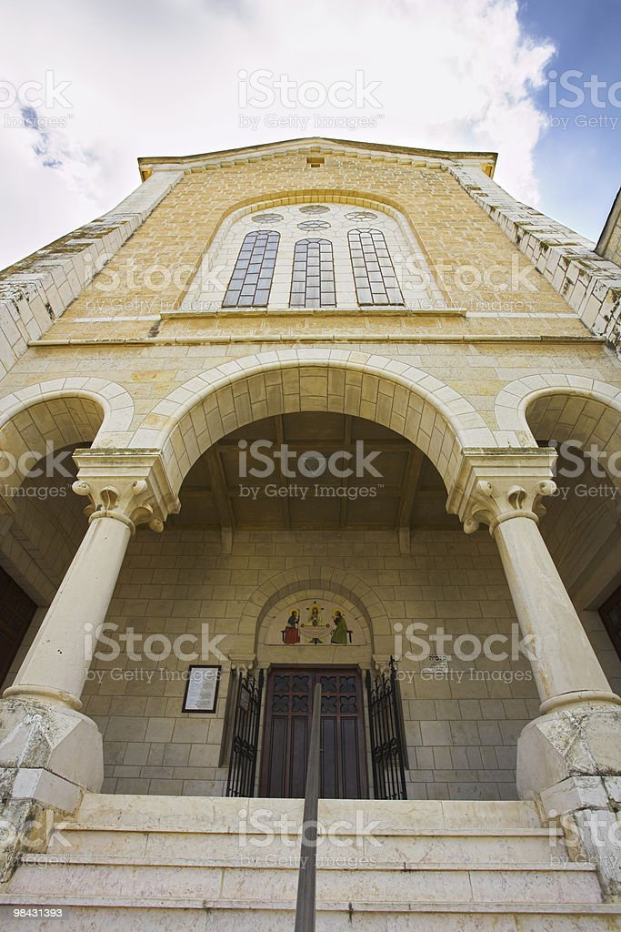 The monastery Convent of Latroun in Israel royalty-free stock photo