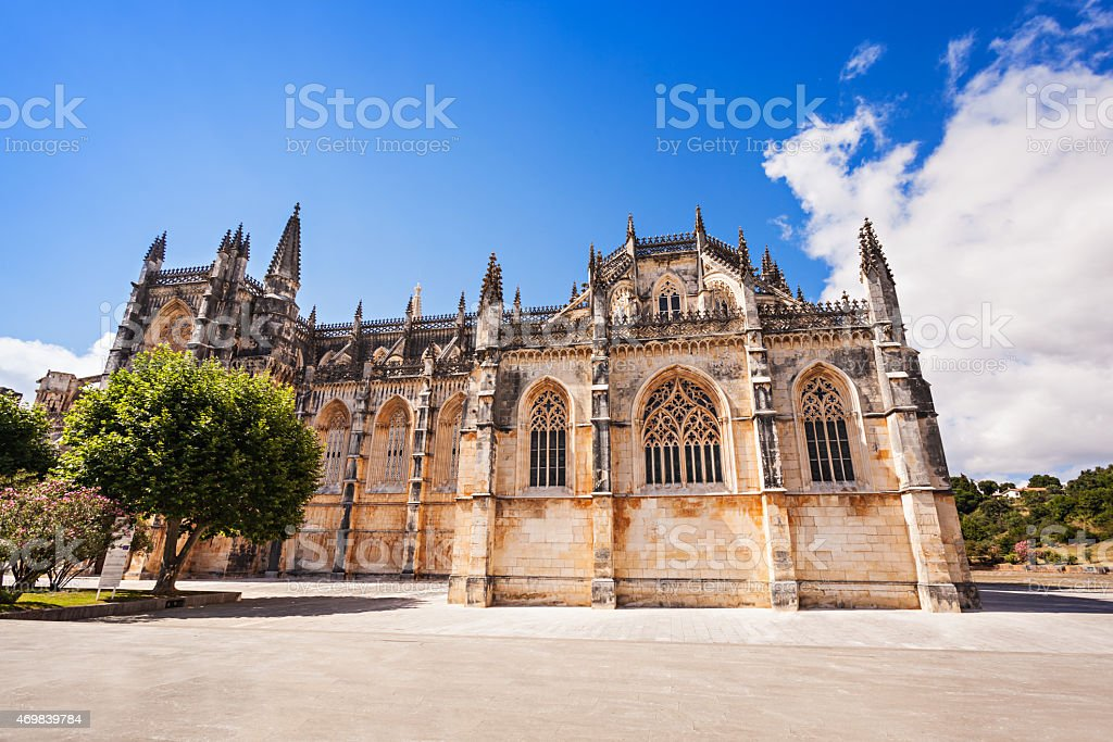 The Monastery of Batalha stock photo