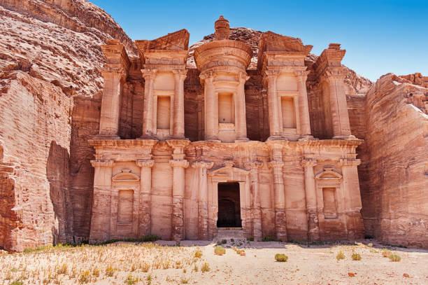 Das Kloster von Petra – Foto