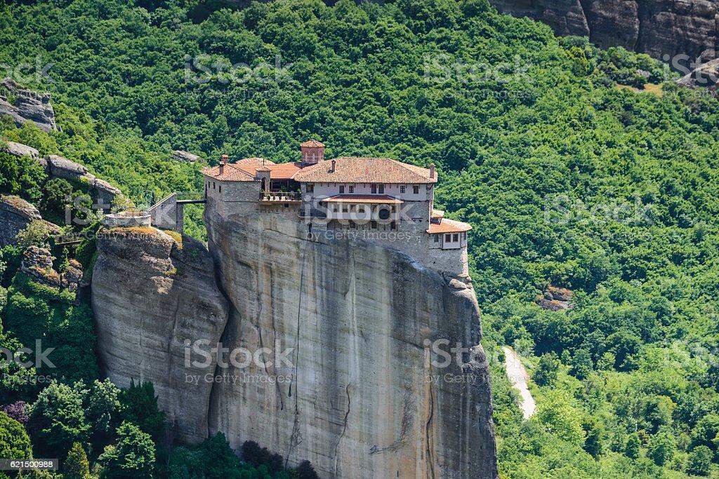 The Monastery of Roussanou at Meteora monasteries, Greece photo libre de droits