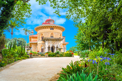 The Monserrate Palace in Sintra, Portugal.