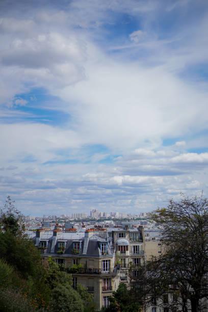 The Montmartre Skyline stock photo