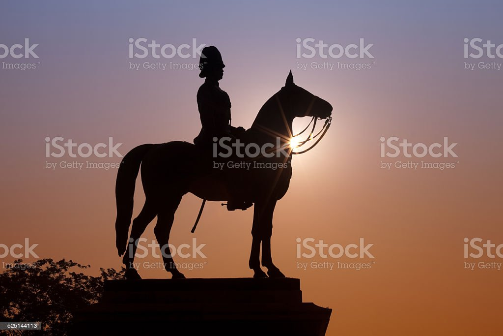The monument of King Rama V stock photo