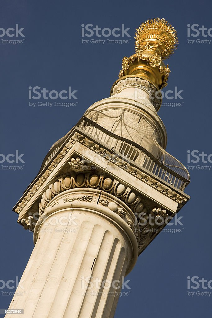 The Monument royalty-free stock photo