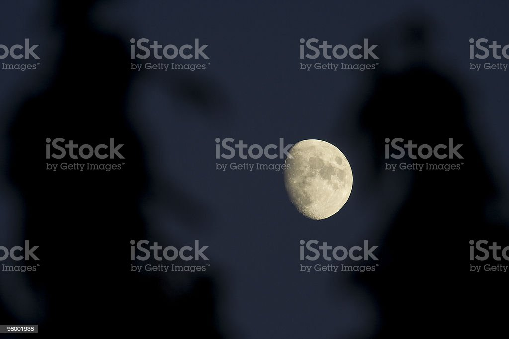 A Moon foto royalty-free