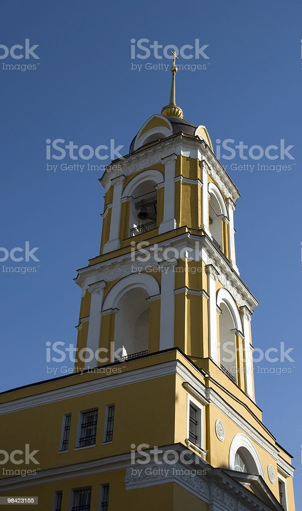 The Moscow belltower. royalty-free stock photo