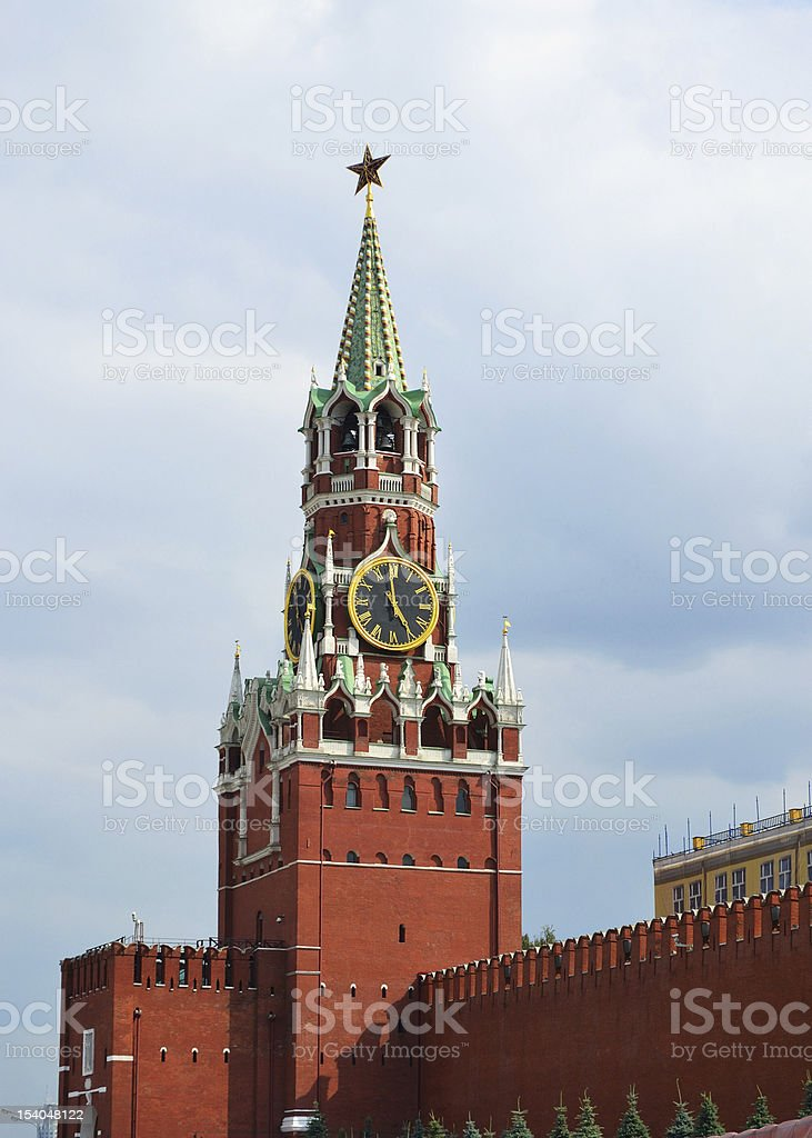 The Moscow Kremlin, Russia stock photo