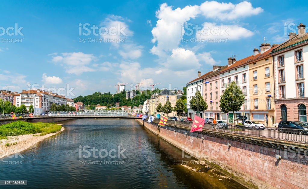 The Moselle River In Epinal France Stock Photo Download Image Now Istock