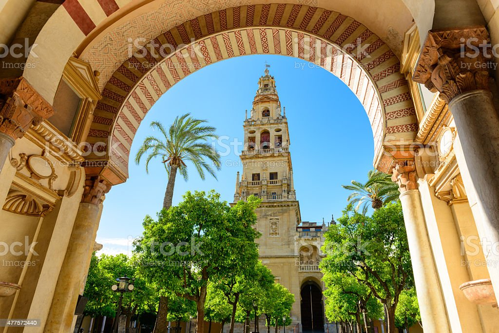 The Mosque Cathedral of Cordoba stock photo
