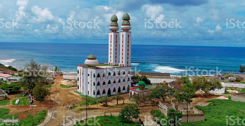 The Mosque of Divinity stock photo