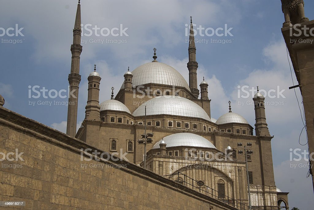 The Mosque of Mohammed Ali, Cairo, Egypt stock photo