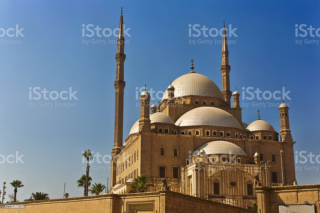 The Mosque of Muhammad Ali stock photo