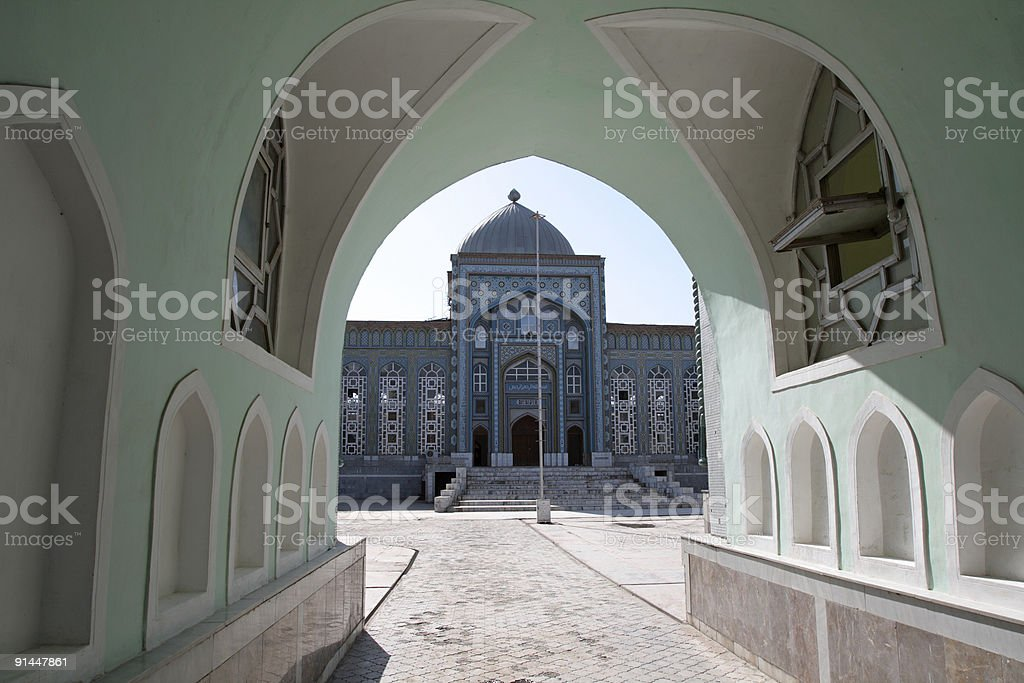 The mosque stock photo