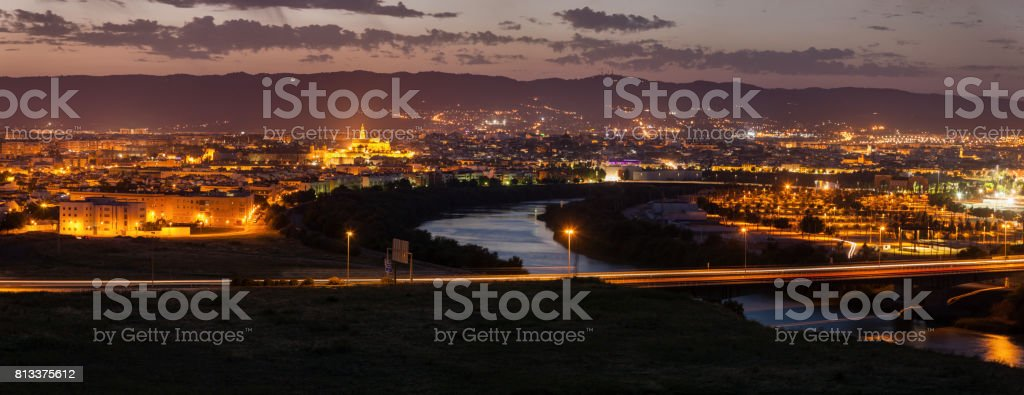 The Mosque-Cathedral of Cordoba stock photo