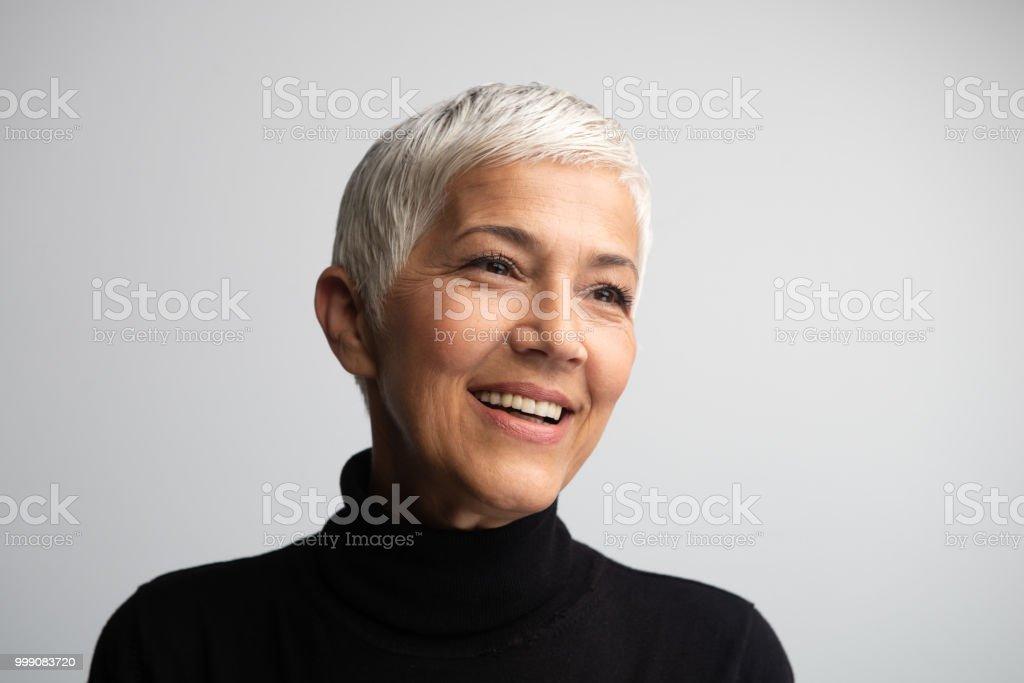 The Most Beautiful Woman stock photo