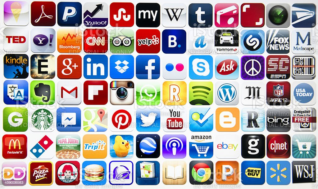most popular iphone apps the most app on itunes webstore stock photo amp more 2680