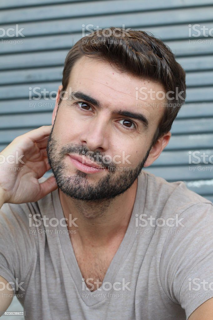 The Most Handsome Man In The World stock photo | iStock