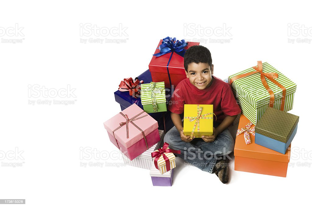 The most happy child ! royalty-free stock photo