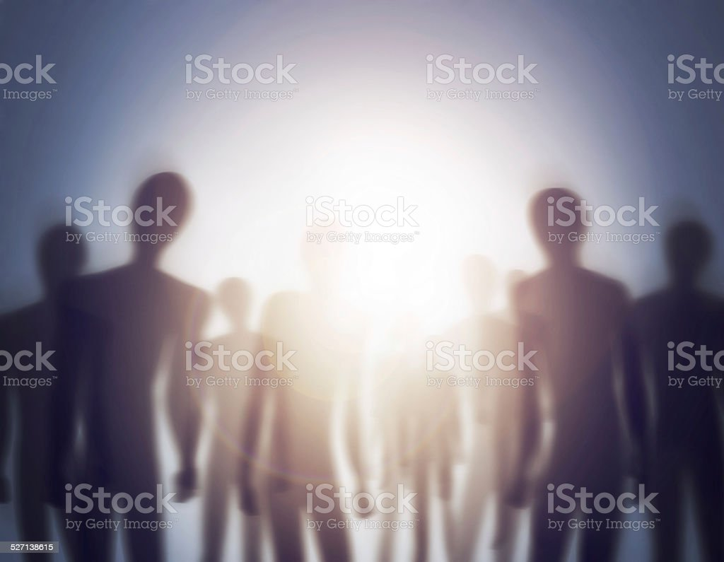 The mothership has arrive royalty-free stock photo