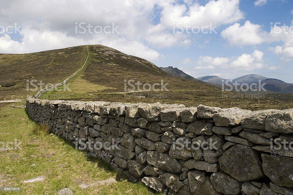 The Mounre Wall stock photo