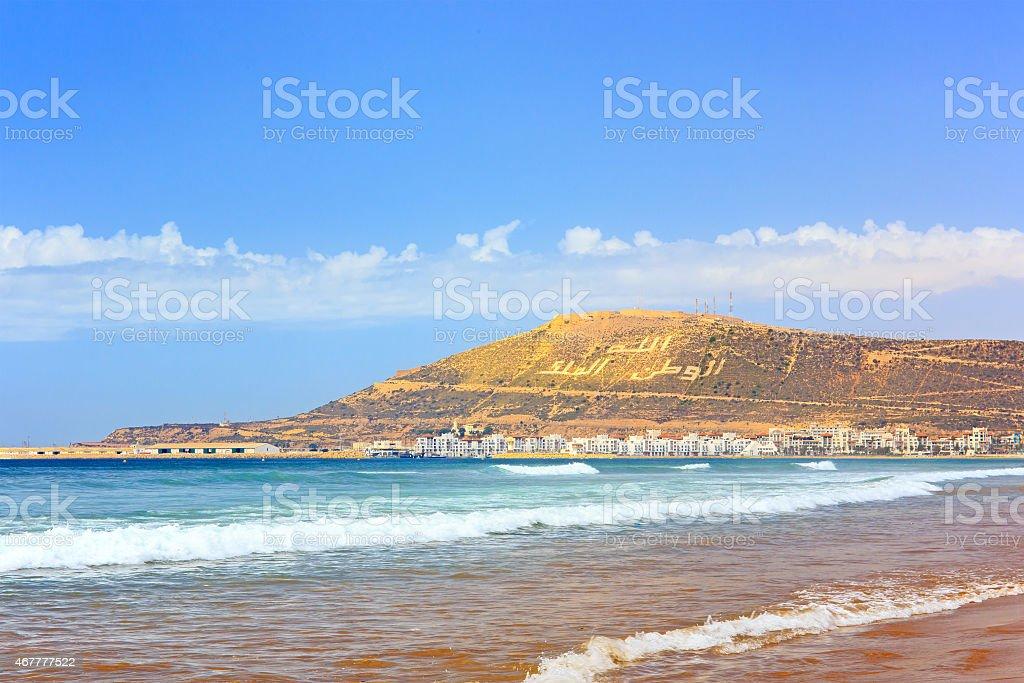 The Mountain in Agadir, Morocco foto