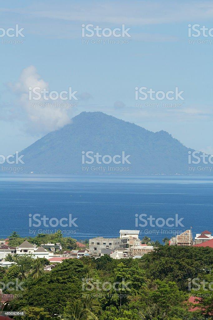 The Mountain Island stock photo