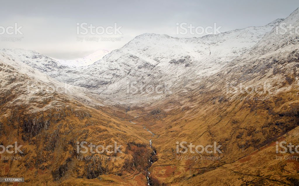 The Mountain River royaltyfri bildbanksbilder