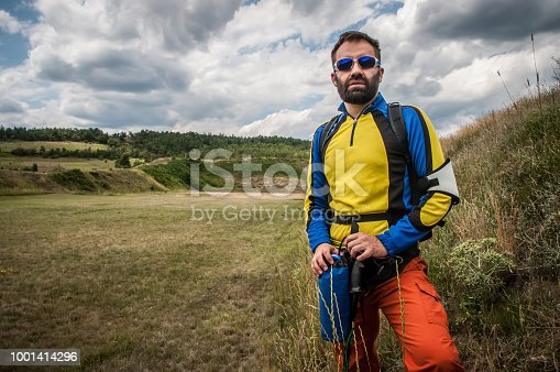 istock The mountaineer rests 1001414296
