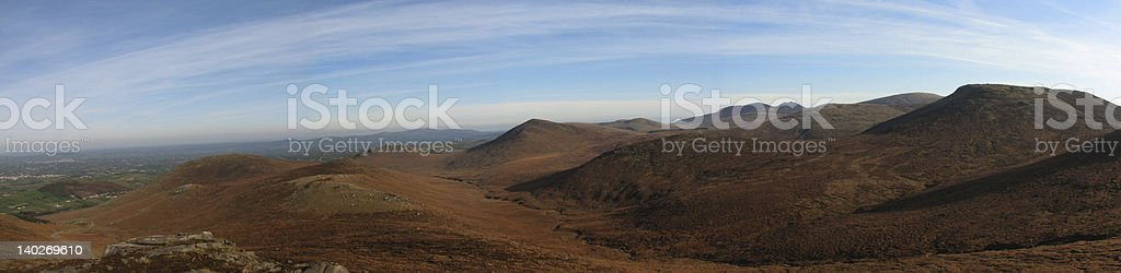 The Mournes, County Down stock photo