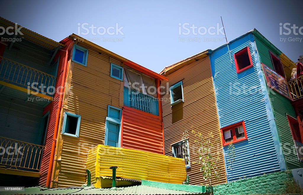 La Boca royalty-free stock photo